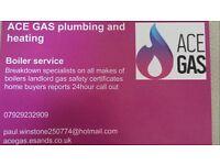 Plumbing and heating engineers gas boiler service+repair new boiler install undertaken