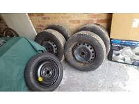 Toyota Yaris/Aygo Wheels & Tyres 4 x 100