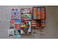 Airfix Betta Bilda Building Set w/ Booklets + 33 Accessory Packs - Vintage 1960's Lego-Style