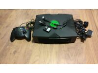 Xbox Original with controller and DVD Driver
