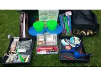 *HUGE* Job lot of fishing equipment and box. Ready to go.