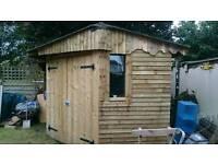Substantial garden shed