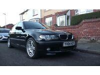 For sale BMW 318 i Mpackiet Black good new mot