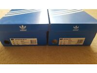 2 x Pairs Adidas Womens Trainers BNIB UK Size 5 - Adidas Superstar 80's and Adidas 350'S