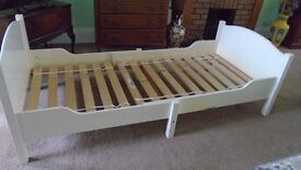 Ikea Toddler's/Young Child's Extendable Bed (No Mattress)