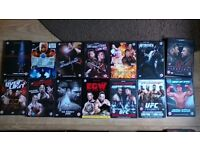 Wrestling DVD and Book Collection