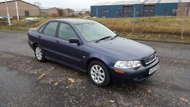 Volvo S40 1.6 4 Door Saloon. Very low mileage. Great history..