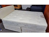 Double bed with mattress and headboard. FREE delivery in Derby