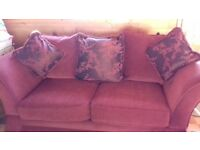 Sofa and Armchair for sale