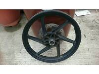 "17"" front wheel"