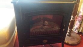 2 kW Berry 2920 LED log effect electric fire