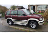 Isuzu Trooper 3.0TD 7 Seat 4X4 lowest mileage one i have seen for sale