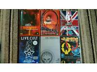 6 music dvds