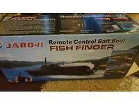 jabo mk2 fishing bait boat with fishfinder