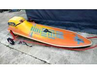 Surfjet. Jet powered surfboard