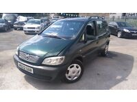 Vauxhall Zafira 1.6 2000 12 Months MOT 7 SEATER DRIVE MINT P/X WELCOME