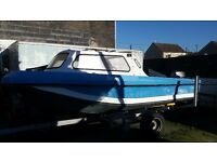 17ft dory and 30hp suzuki outboard