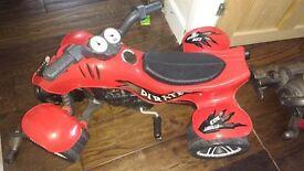 Kids pedal quad