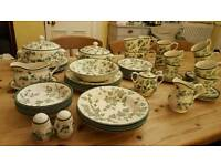 *48 pieces* Country Vine tableware BHS dinner service set