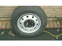 Van Spare Wheel