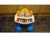 Fisher-Price Baby Grand Piano