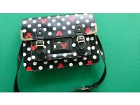 Mickey mouse printed shoulder bag school book bag