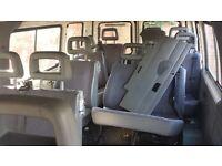 1999 transit minibus seats with belts