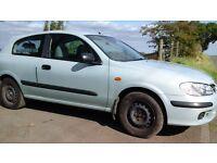Nissan almera 2002, mot 1yr advisory free, cheap transport