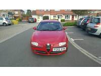 Alfa Romeo 147, 2002 (52 Reg), Petrol, Manual, 113,300 miles, MOT until November 2017