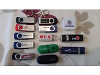 USB sticks Drives 1GB 2GB 4GB - £10