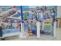 Playmobil Airport and Jet plane set with original boxes and instructions £35 ono.