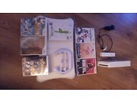 wii fit and wii console