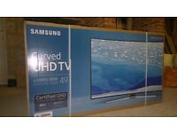 "49"" samsung curved 4K TV"