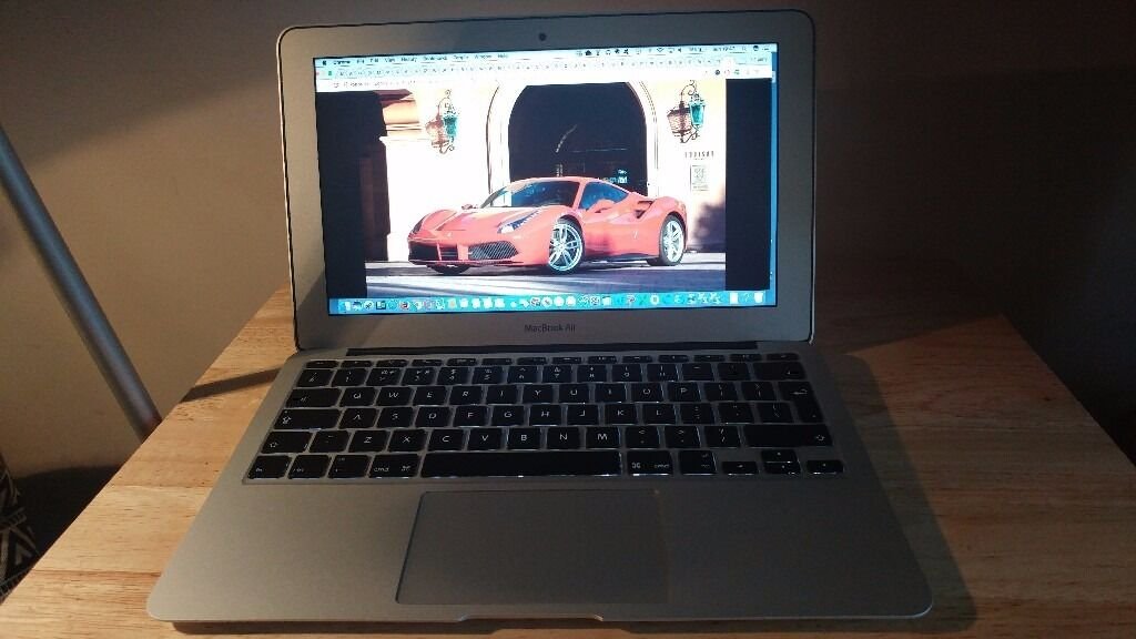 """Apple MacBook Air 11.6"""" Core i5 1.3Ghz 4GB 128GB SSD (Jun,2013) A Gradin Lewisham, LondonGumtree - Apple MacBook Air """"Core i5"""" 1.3 11"""" (Mid 2013) Specs Mid 2013 MD711B/A The Apple MacBook Air """"Core i5"""" 1.3 11 Inch (Mid 2013/Haswell) features a 22 nm """"Haswell"""" 1.3 GHz Intel """"Core i5"""" 4Gb Ram 128gb Storage The laptop has only one small mark..."""