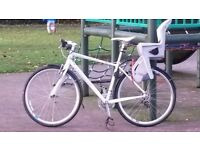 STOLEN White Specialized Sirrus 2012. 27 Speed. Hybrid Bike.