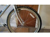 "old timey mountain bike camel coloured ""white""wall tyre, (26x2.10), wanted"