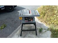 Clarke table saw and stand