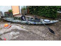 Fishing or leisure kayak
