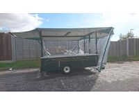 Display catering trailer