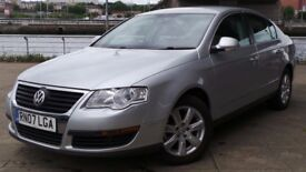 2007 07 VOLKSWAGEN PASSAT 2.0 TDI SE 4d 138 BHP ***CHEAPER PART EX WELCOME***