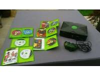 Xbox and a variety of games