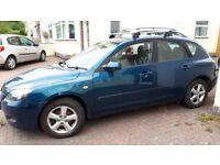 Mazda 3ts 1.6 petrol, long mot, new clutch and service history
