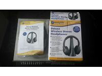 Brand new wireless headphones