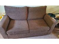 Brown Ikea Sofa Bed