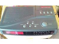 MORPHY RICHARDS RADIO ALARM CLOCK MODEL NUMBER CR354