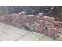 Approx 100 (one hundred) FREE red house bricks.