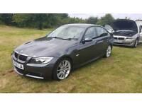 BMW 325i m sport 4 door 2005 saloon 6 speed mot cheap car Kent bargain
