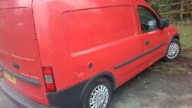 Vauxhall combo bi fuel spare or repairs sold as seen