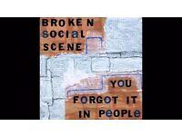 Broken Social Scene tickets x2 (Balcony) hard copies near Heathrow