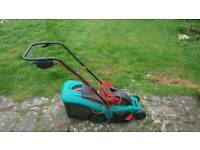 Bosch Rotak 37 electric lawnmower